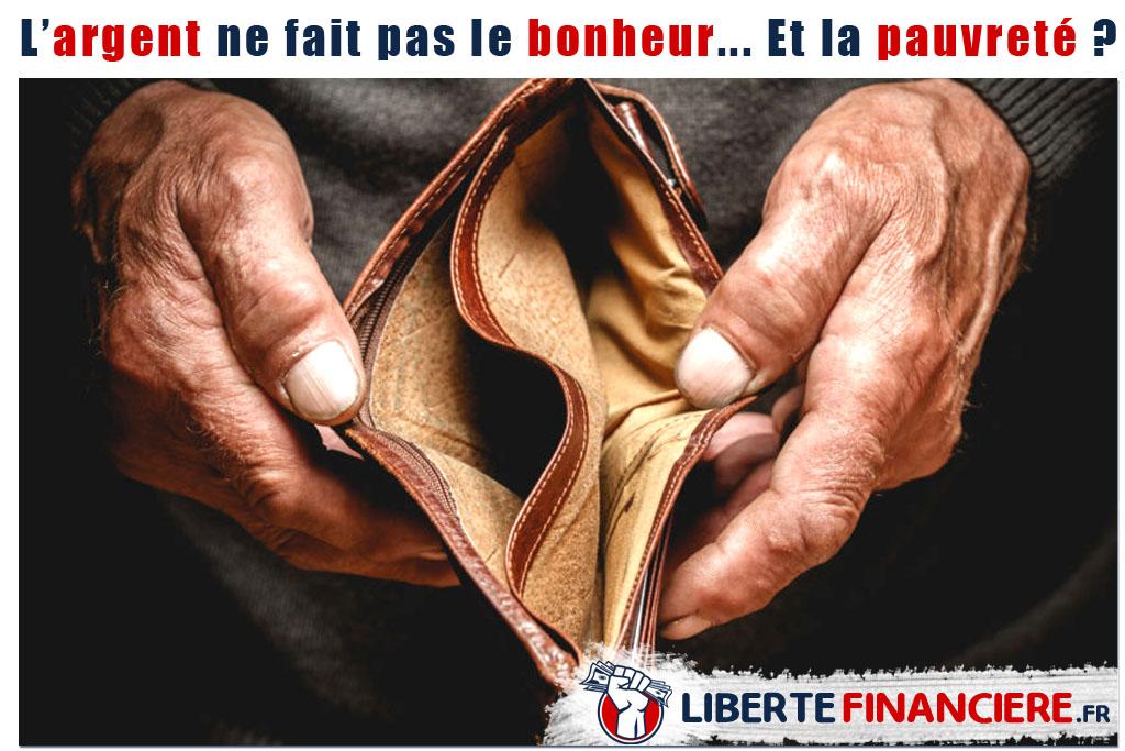 L'argent ne fait pas le bonheur… Et la pauvreté ?