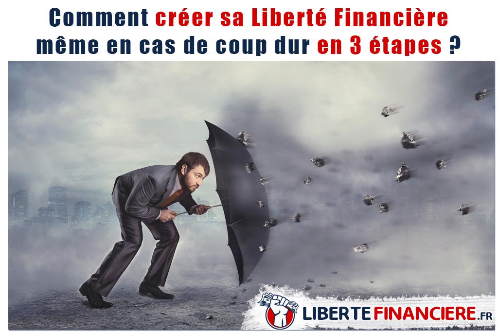 Comment créer sa Liberté Financière même en cas de coup dur en 3 étapes ?