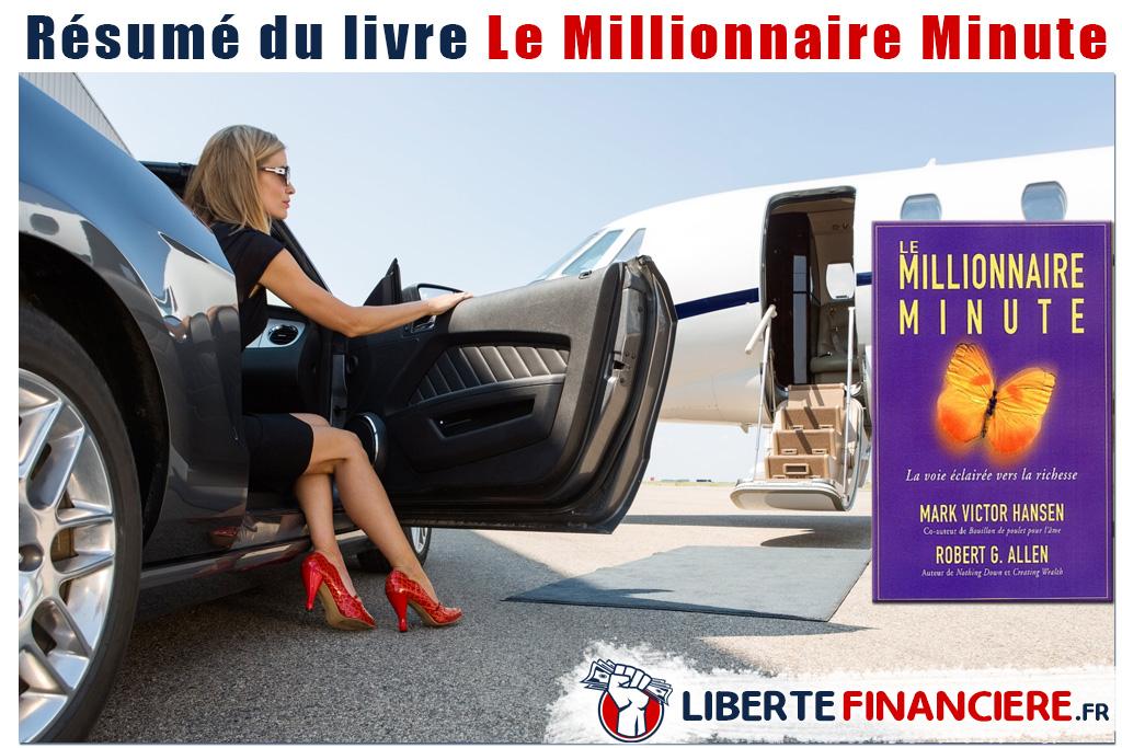 Résumé : Millionnaire Minute : 1 Million D'euros En 90 J
