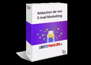Rédaction de votre email marketing